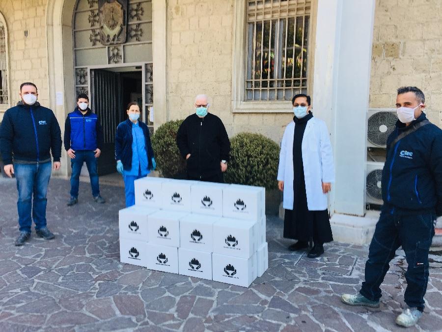 """L'Ospedale S. Cuore di Gesù – Fatebenefratelli di Benevento ringrazia la CIEC S.r.l. per il dono di """"pacchi viveri"""""""