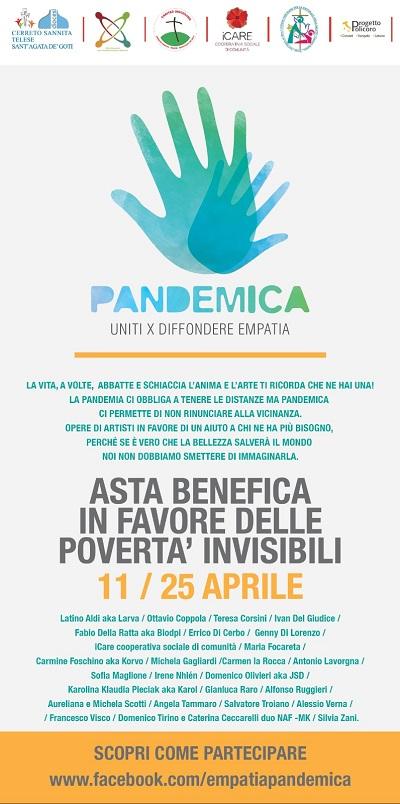 Diocesi di Cerreto Sannita – Telese – Sant'Agata de' Goti, un'asta on-line di opere d'arte in favore delle povertà invisibili