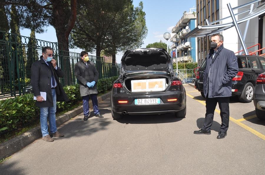 Di Maria: Consegnati i Presidi Sanitari anti Covid-19 alla Azienda Ospedaliera San Pio