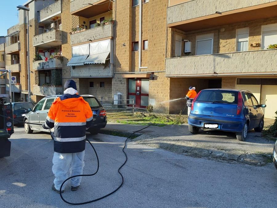 Covid, Comune e Asia annunciano sanificazione straordinaria delle strade