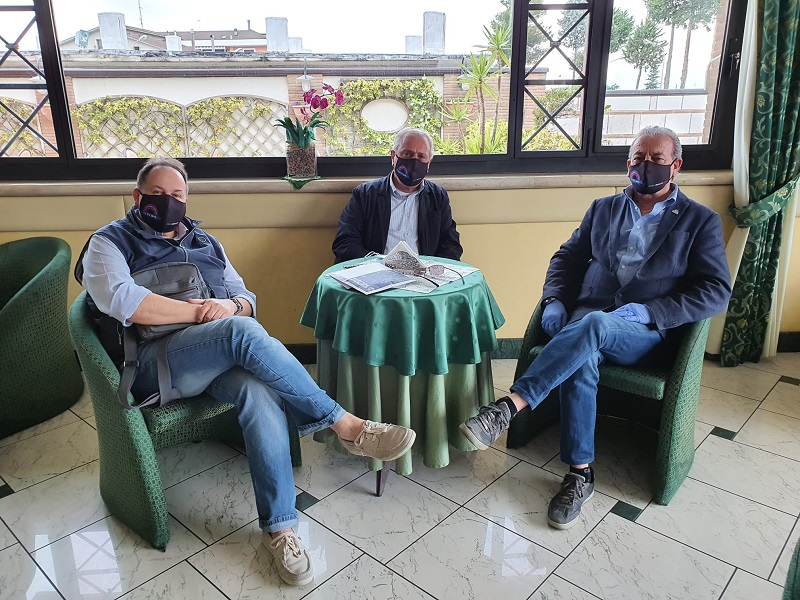 Benevento, riunione organizzativa con il segretario provinciale LI.SI.PO