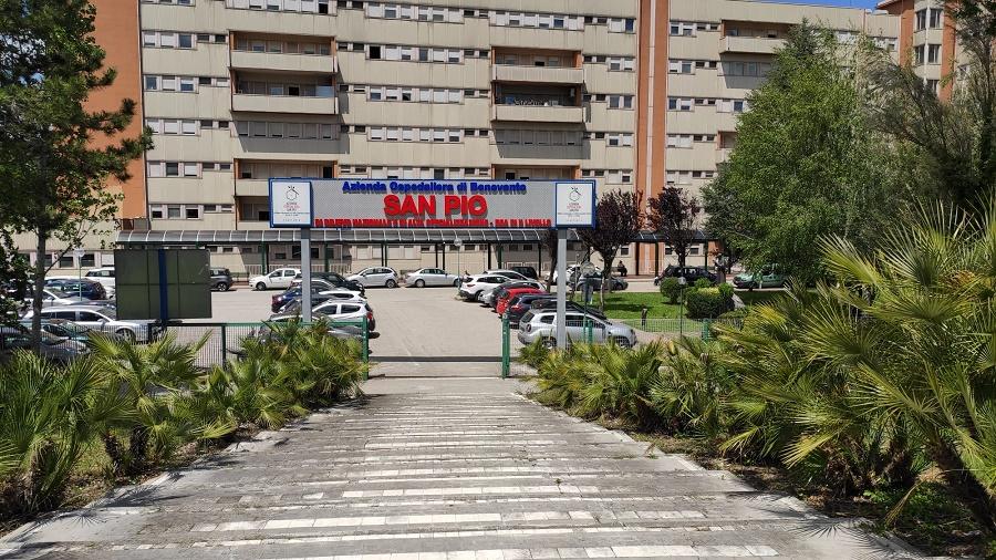 Azienda Ospedaliera San Pio. Un nuovo caso positivo per un soggetto residente in provincia.