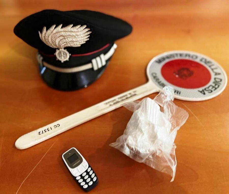 Benevento,arrestati due  pusher con 120 gr di cocaina