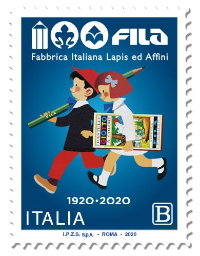 Emissione francobollo Fabbrica Italiana Lapis ed Affini