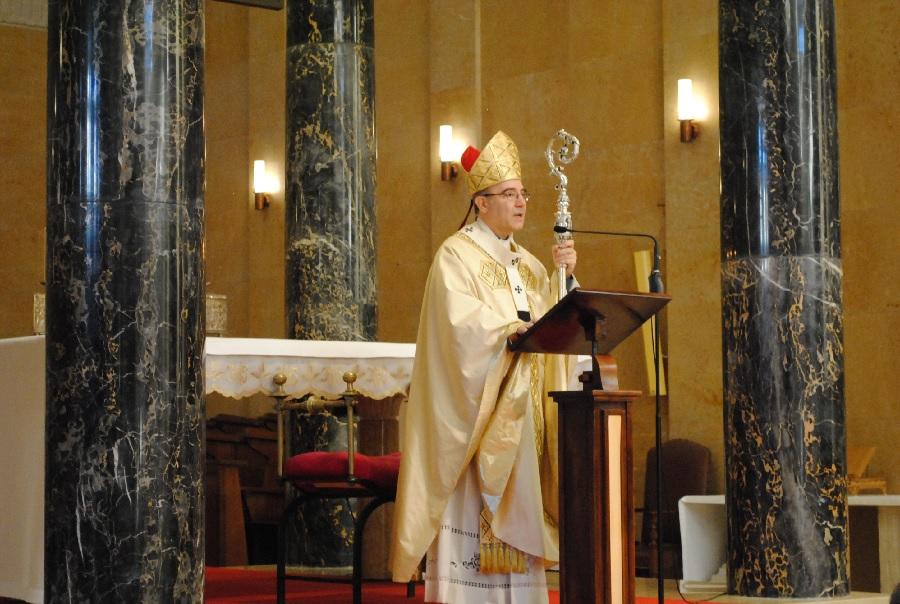 Messa Crismale. L'Omelia di Mons. Felice Accrocca, arcivescovo di Benevento.