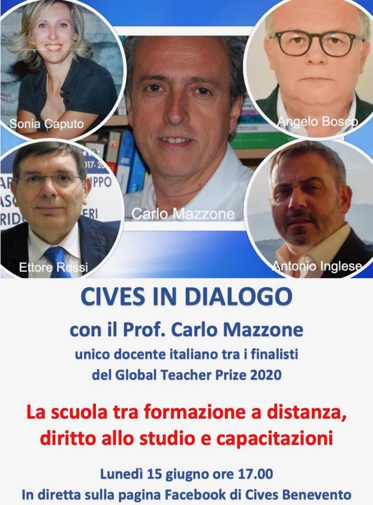CIVES in dialogo con Carlo Mazzone: la scuola tra formazione a distanza, diritto allo studio e capacitazioni