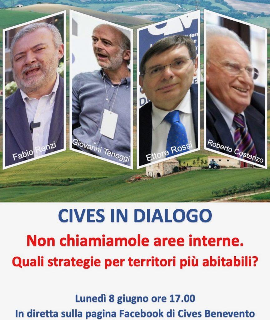 """CIVES in dialogo:""""non chiamiamole aree interne"""""""