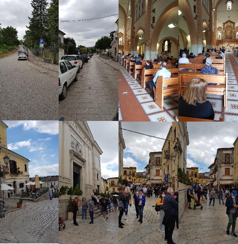 Pietrelcina. Boom di pellegrini: una giornata di grande affluenza