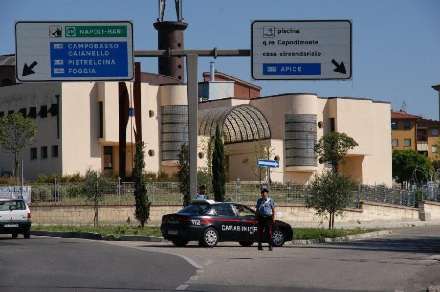 Benevento. Marito litiga con la moglie, arrestato dai Carabinieri