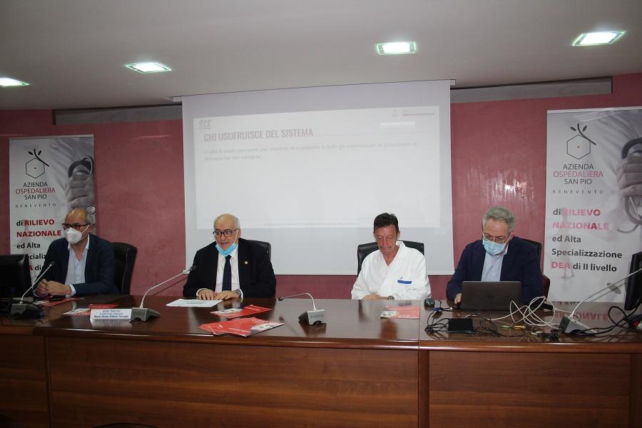 Il San Pio al primo posto in Campania per prenotazioni on line per i donatori di sangue