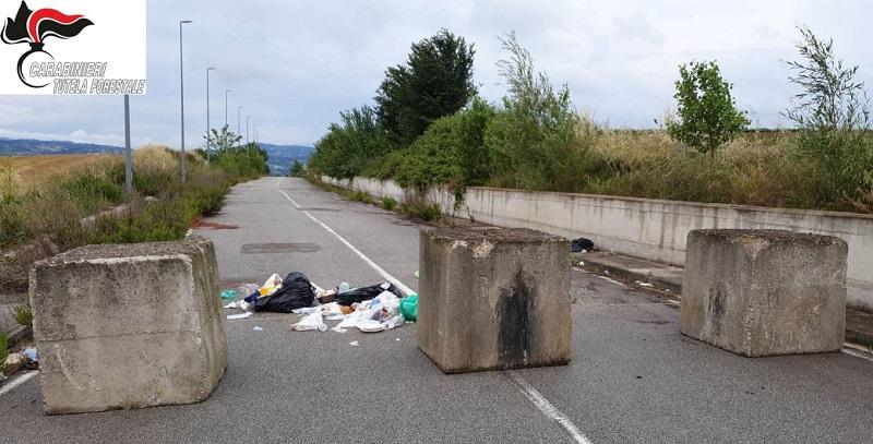 San Giorgio del Sannio, abbandono illecito di rifiuti
