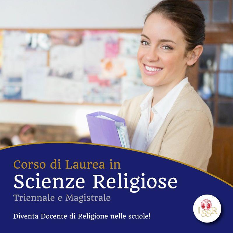 Corso di laurea in Scienze Religiose: aperte le iscrizioni per l'Anno Accademico 2020-2021
