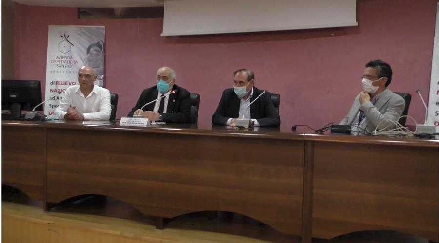 ImmunoCovid, al San Pio presentato il Kit per lo studio dell'immunità da Covid