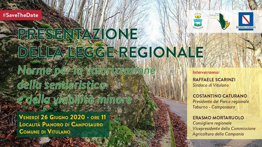 Domani a Camposaurola presentazione della Legge per la valorizzazione della sentieristica e dellaviabilità minore