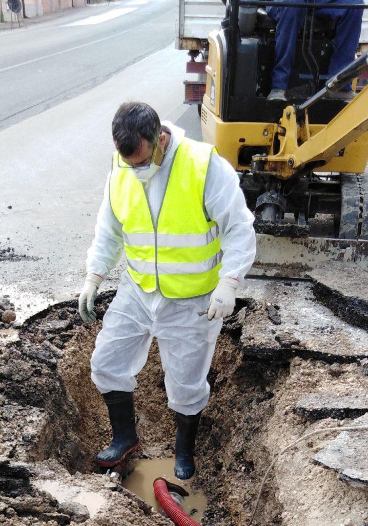 GESESA –BENEVENTO: interruzione idrica a causa di un guasto improvviso, in Via Firenze