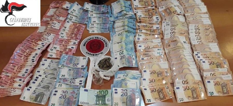 San Nicola Manfredi. I carabinieri denunciano giovane per spaccio e spendita di monete false