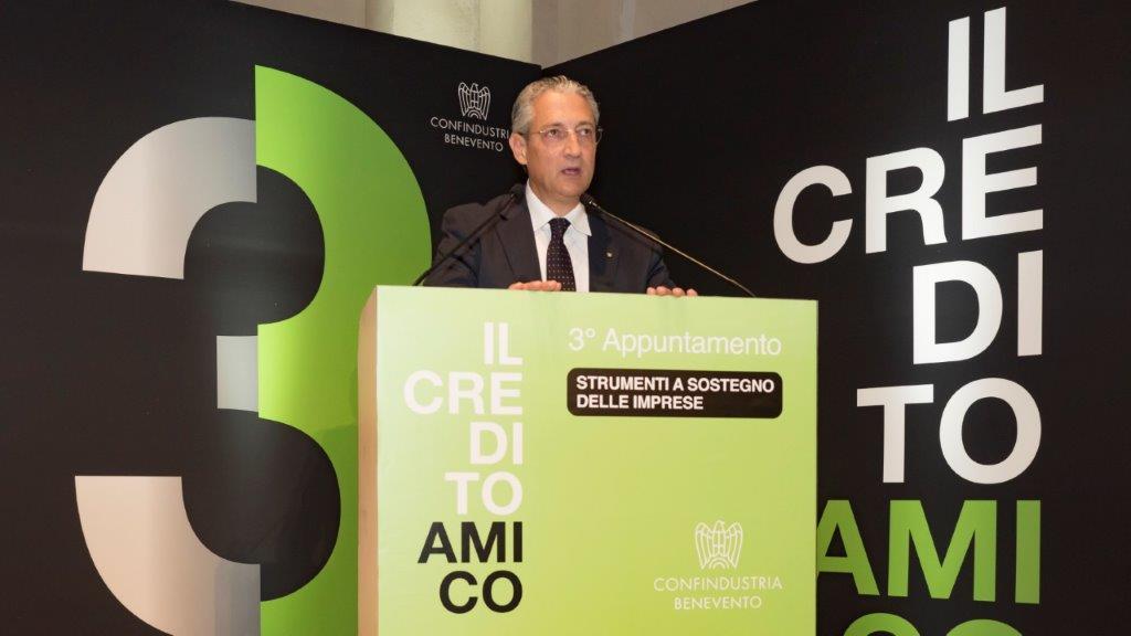 Confindustria , Filippo Liverini a Viale dell'Astronomia, ieri ufficializzata la nomina nel Gruppo Tecnico Credito di  Confindustria centrale