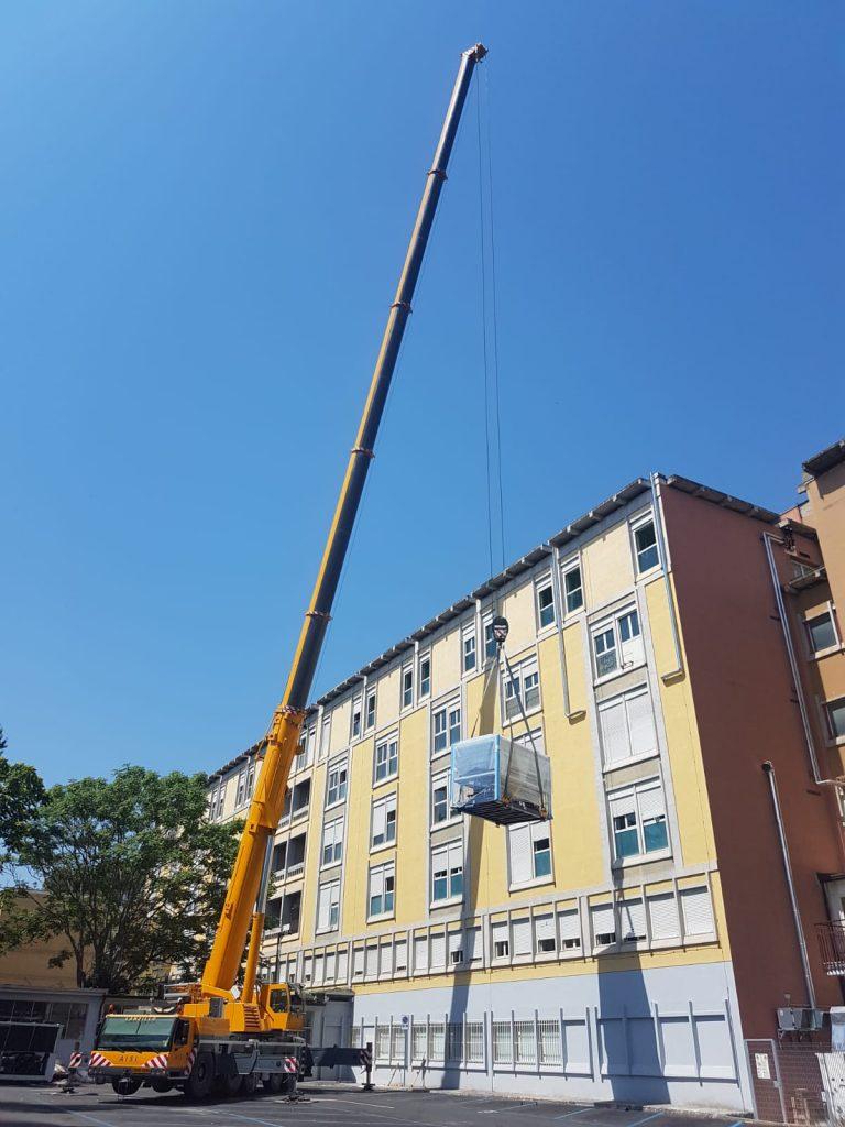 """AO """"San Pio"""", acquistato un nuovo e moderno impianto di climatizzazione"""