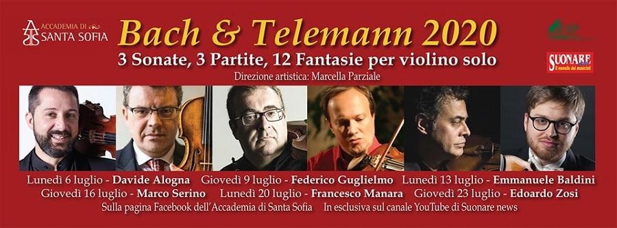 Accademia di Santa Sofia,  primo concerto in streaming di Bach e Telemann 2020
