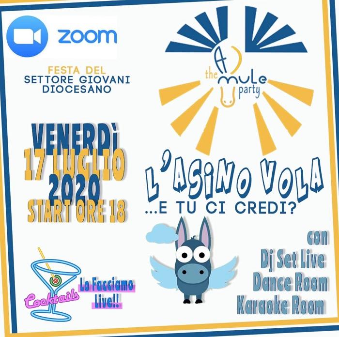 Giovani Azione Cattolica, Festa-Giovani estiva on-line venerdì 17 luglio