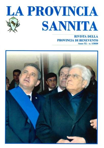 """Dopo circa cinque anni è stato pubblicato un nuovo numero de """"La Provincia sannita"""" (Anno XL, n. 1/2020)."""