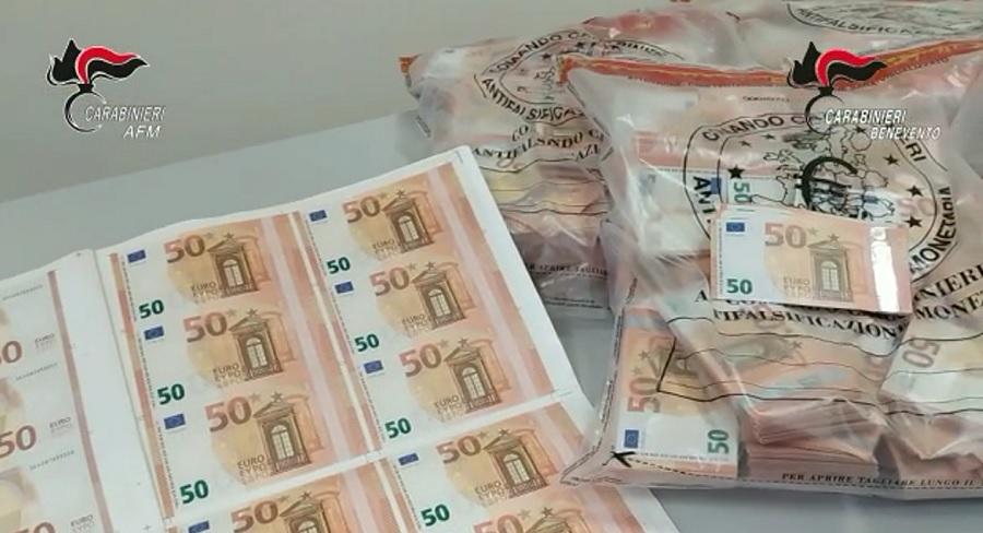 Carabinieri Antifalsificazione Monetaria. In esecuzione ordinanze di custodia cautelare su tutto il territorio nazionale e europeo