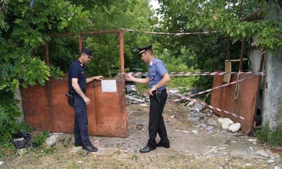 Telese Terme,denunciati dai carabinieri due soggetti mentre sversavano in un terreno rifiuti speciali