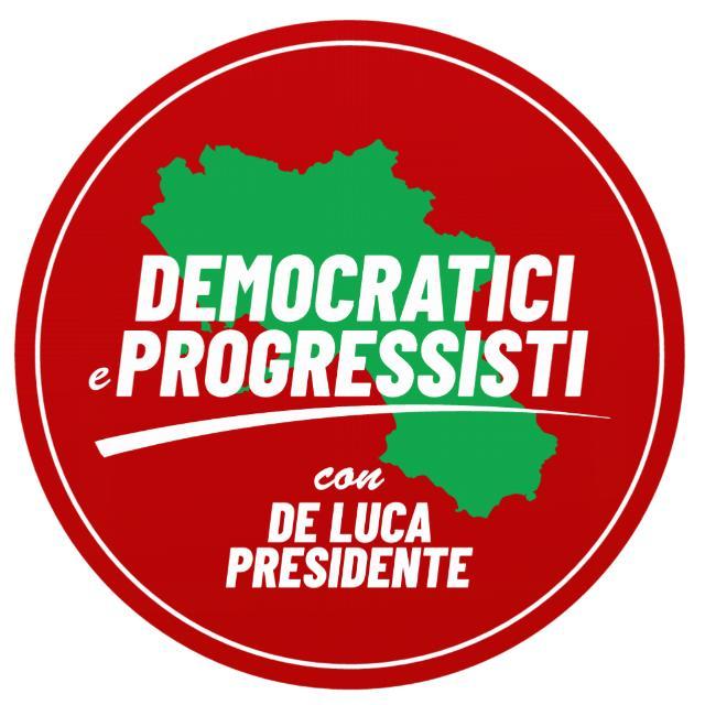 """Democratici e Progressisti con De Luca presidente: """"sanità e istruzione una priorità, il recovery fund sia l'occasione per dare pari opportunità al mezzogiorno"""""""