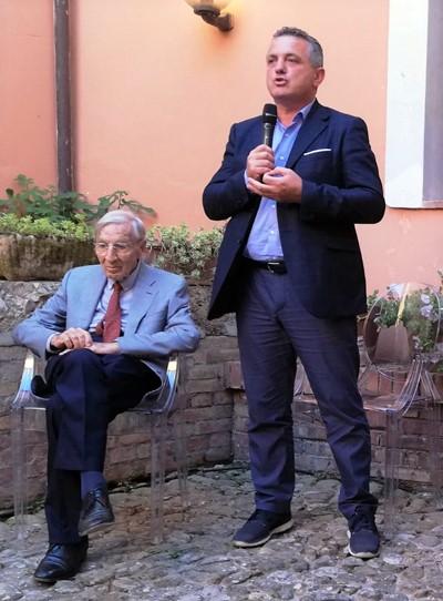 Il commento di Di Maria alla presentazione delle borse di studio Bosco Lucarelli