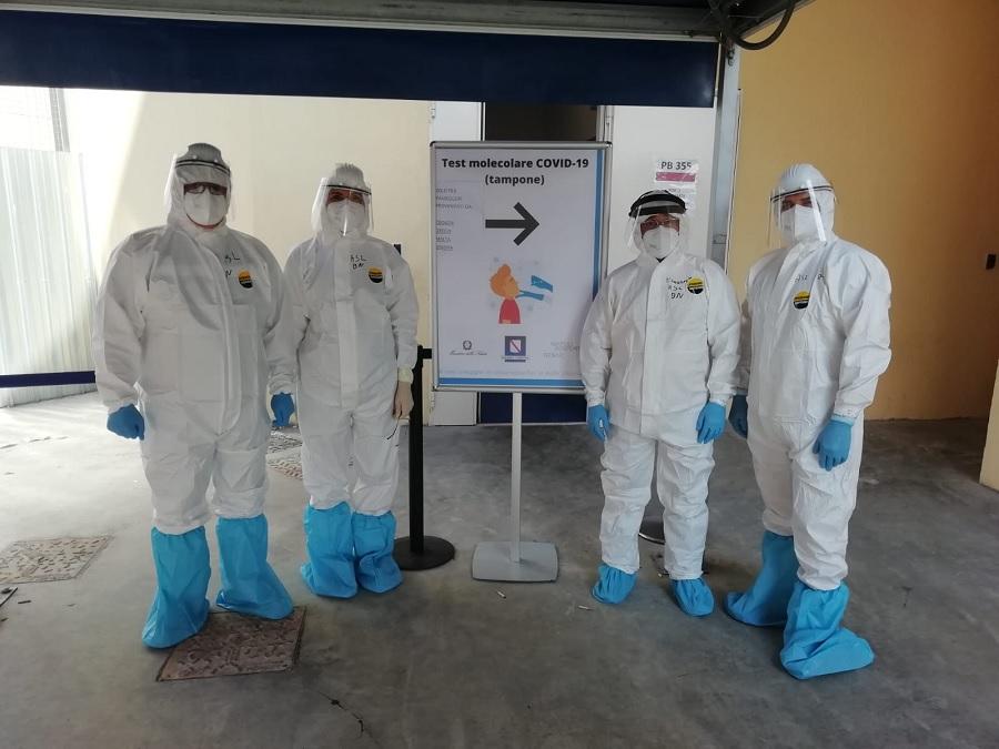 Coronavirus, la Asl Benevento a supporto della Regione per i controlli all'aeroporto di Napoli