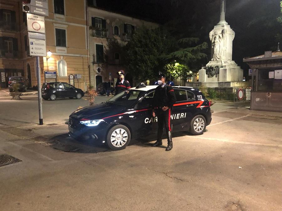 Movida. I Carabinieri denunciano 3 persone in stato di libertà.