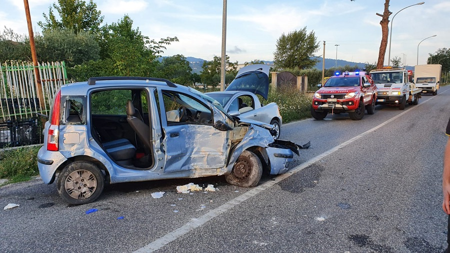 Incidente all'alba nel territorio di Calvi