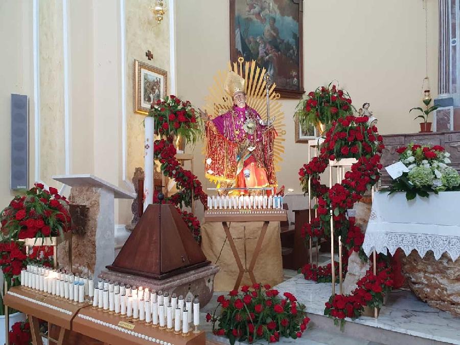 Pago Veiano. Questa sera l'arcivescovo  mons. Accrocca celebra la Messa per la Festa Patronale