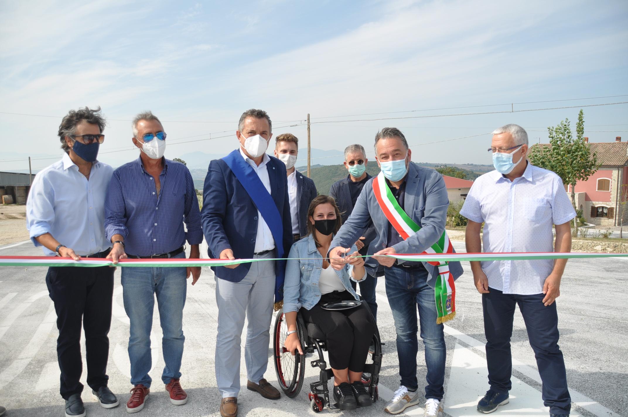 Inaugurato l'innesto S.P. Beneventana – S.S. 212