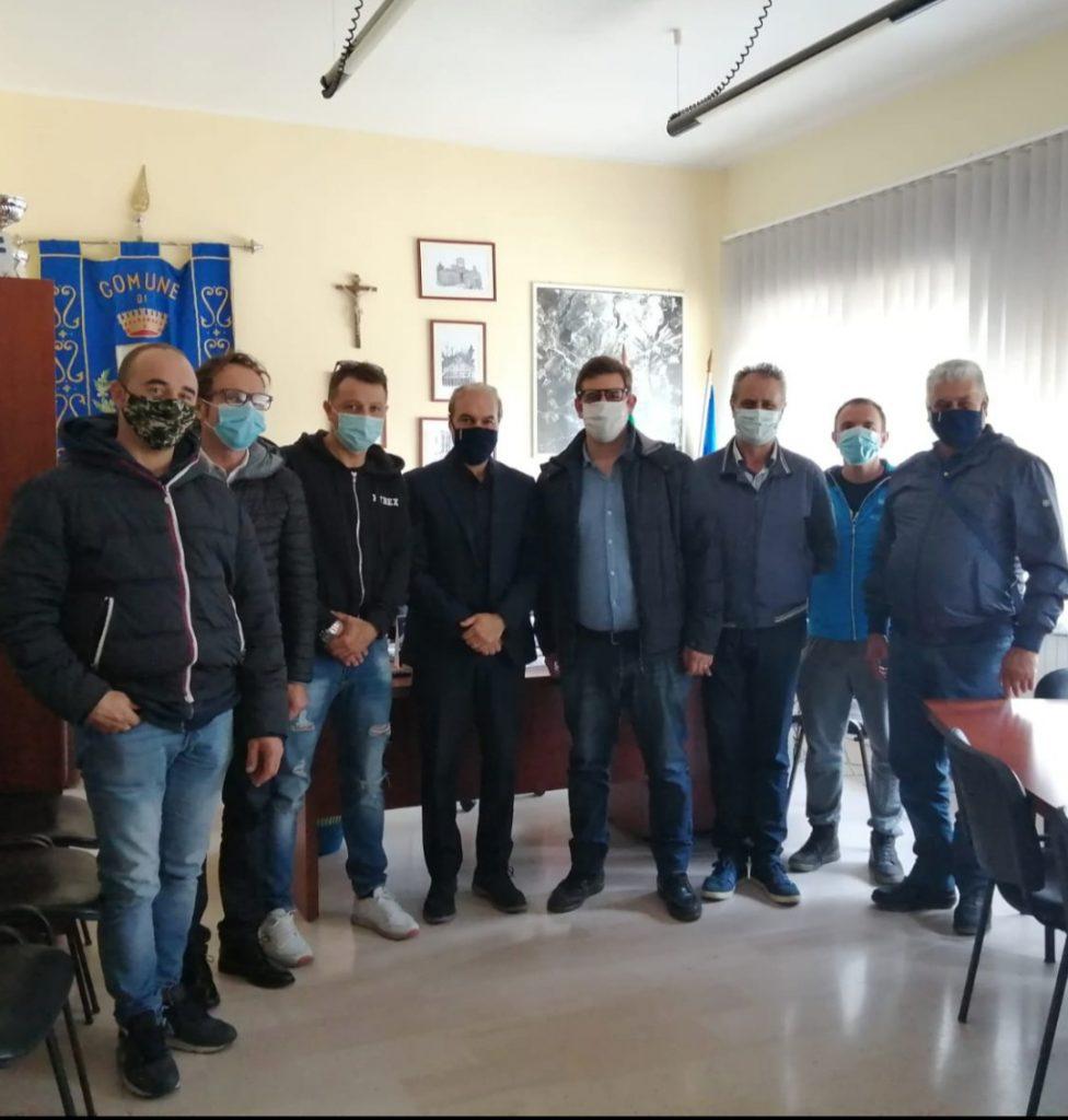 Dopo un decennio, le delegazioni dei Consigli comunali di Ginestra degli Schiavoni e di Castelfranco in Miscano sono tornate ad incontrarsi