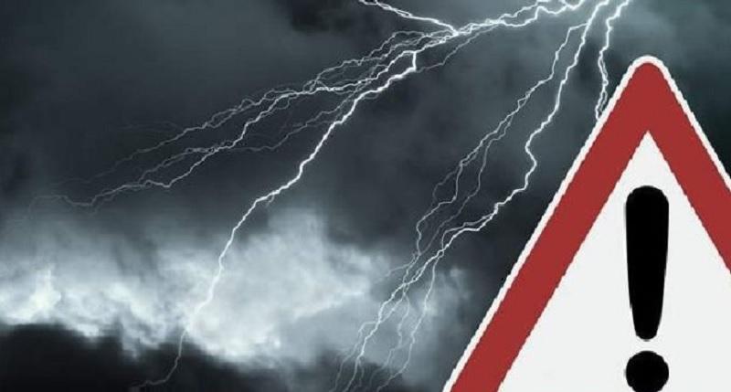 Allerta meteo dalle ore 6 di venerdì 25 settembre alle ore 6 di sabato 26