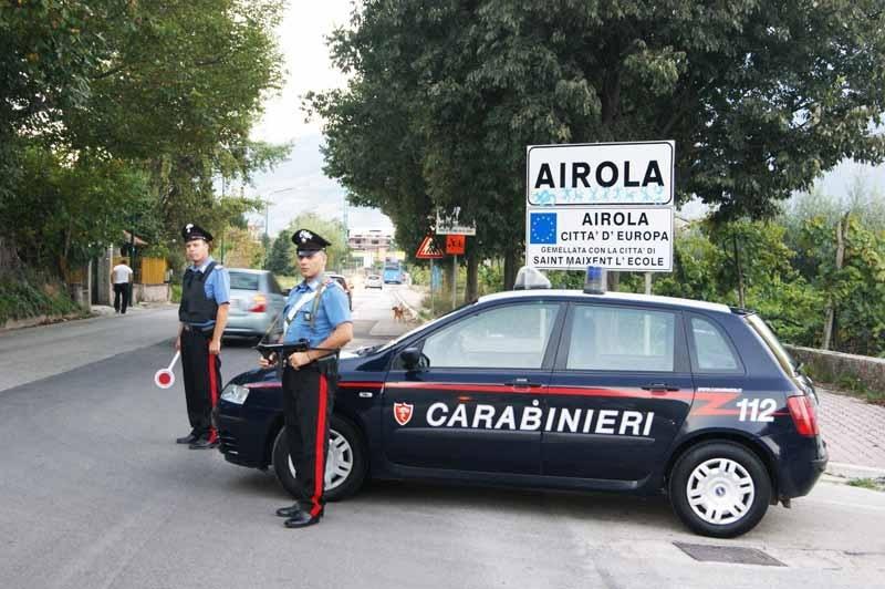 Airola: donna minacciata e quasi investita dal suo ex marito.L'uomo è stato rintracciato e arrestato dai carabinieri