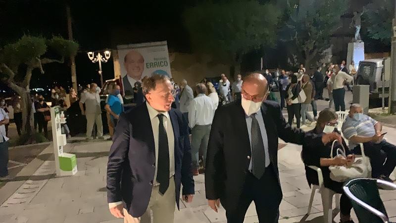 Fulvio Bonavitacola chiude la Campagna Elettorale con Fernando Errico