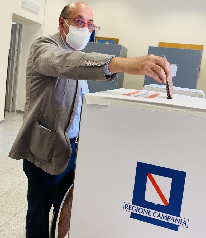 """Fernando Errico : """" Ho appena votato, fatelo anche voi !"""""""