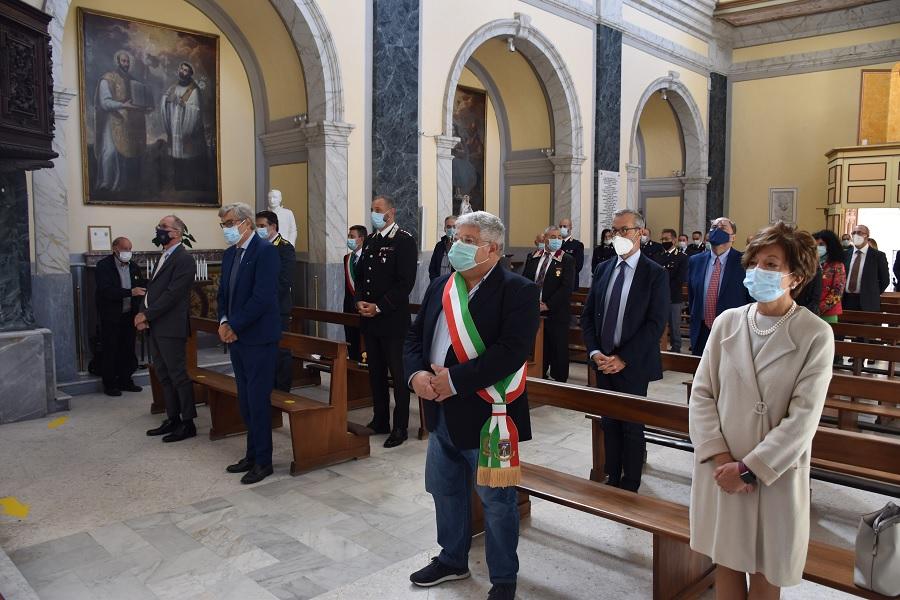 LaPolizia di StatocelebraSan Michele Arcangelo, proprio Santo Patrono.