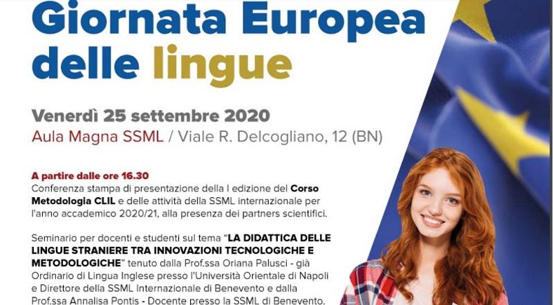 Unifortunato: il 25 settembre Conferenza Stampa Giornata Europea delle Lingue
