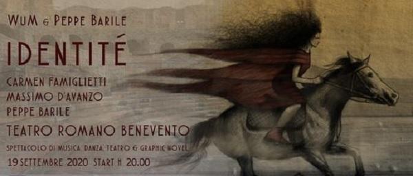 Sabato 19 settembre al Teatro Romano lo spettacolo Identitè una favola contemporanea