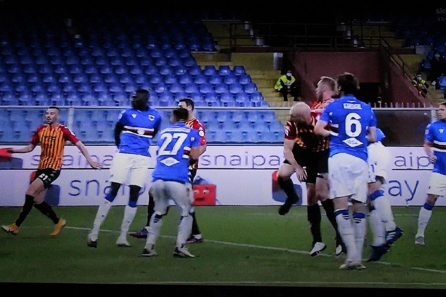 Un ottimo Benevento espugna il Ferraris di Genova. Sampdoria 2 – 3 Benevento