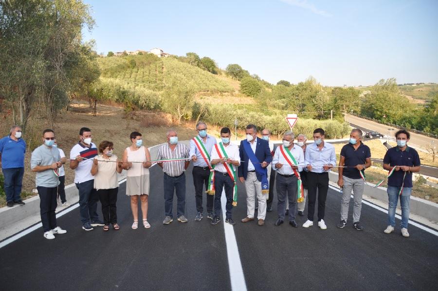 Provincia. Inaugurati gli svincoli per Castelpoto sulla fondo valle vitulanese.