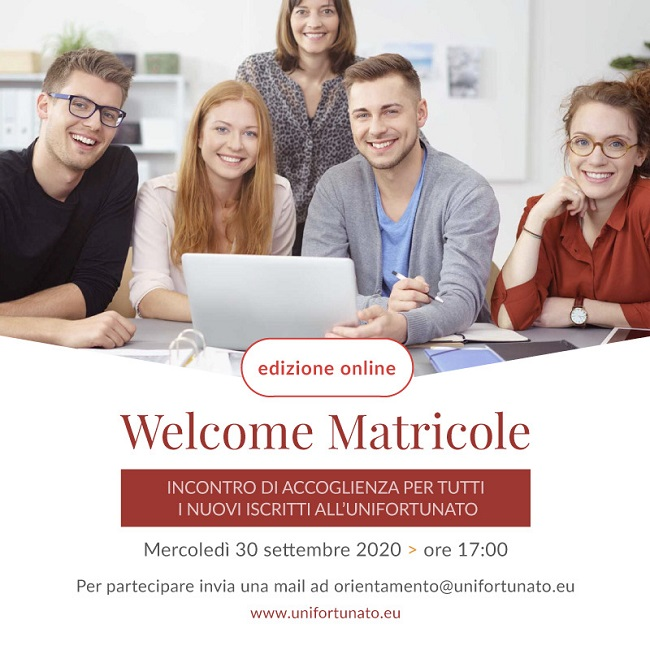 "Unifortunato:""welcome matricole 2020″"