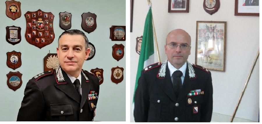 Promossi due ufficiali del comando provinciale carabinieri di Benevento