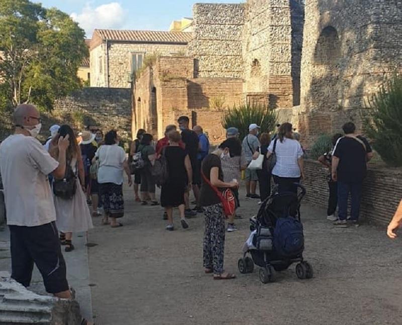 Bum di visitatori per l'Area Archeologica del Teatro Romano di Benevento nel mese di Agosto