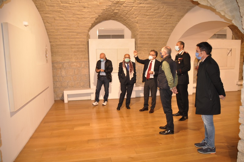 Arcos, inaugurata la mostra di Franco Marrocco
