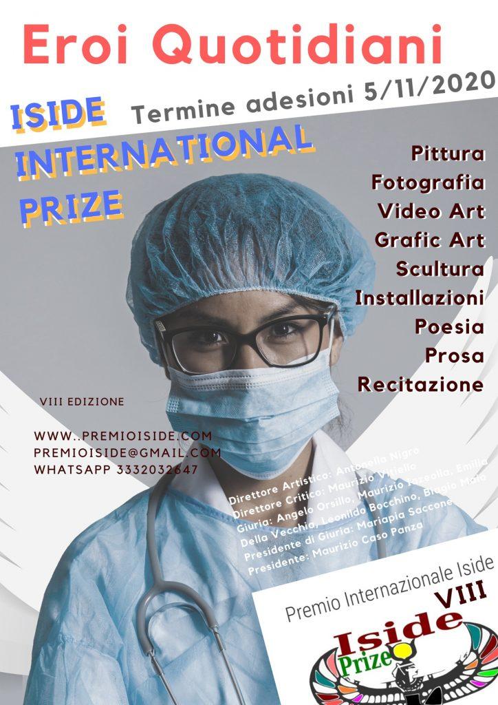 Premio Internazionale Iside, prorogate le adesioni al 5 novembre