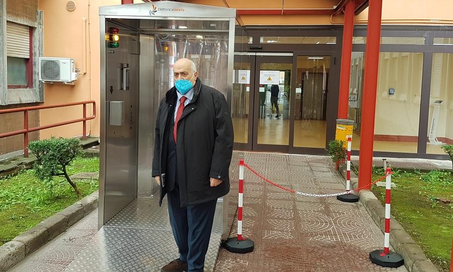 """Al """"San Pio"""" un decesso per Covid. I pazienti ricoverati sono 89"""